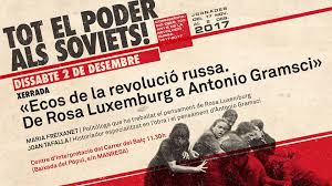 Recepció de Gramsci a Catalunya. 2 desembre 2017.