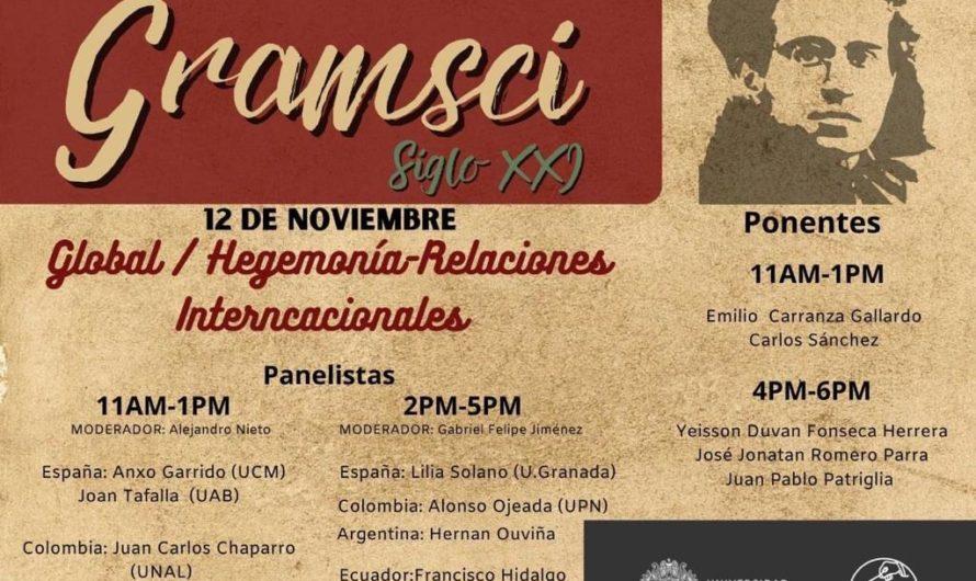 """XVI Seminario Internacional Antonio Gramsci """"Gramsci Siglo XXI"""""""