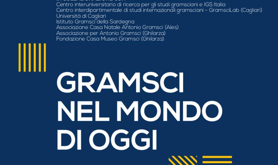 """Congrés internacional """"Gramsci en el món actual"""""""